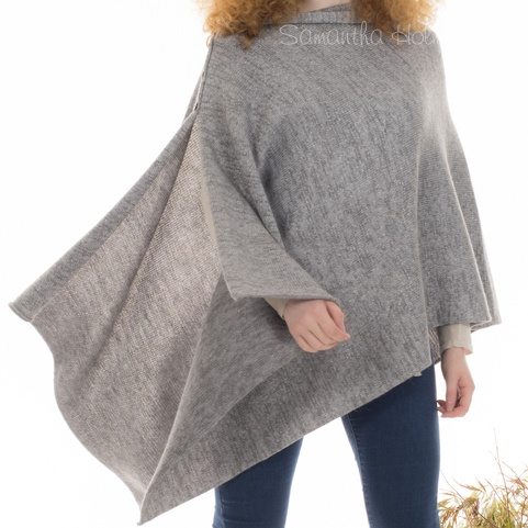 Alpaca Frosted Large Multiway Poncho