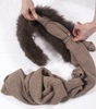 Nutmeg Fur Collar & Scarf