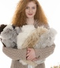 Alpaca Fur Hot water bottles