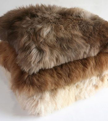Alpaca Fur Cushion Cover