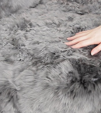 Alpaca Fur Rug or Throw