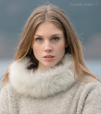 Alpaca Fur Collar/Headband
